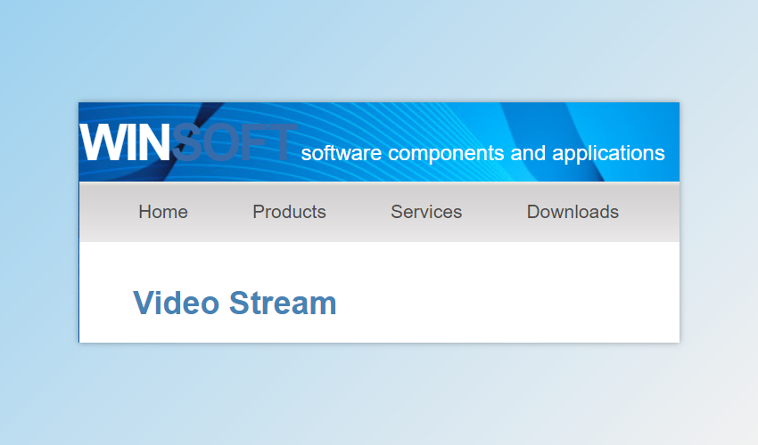 Winsoft Video Stream Offline Installer Download