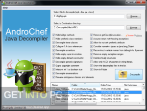 AndroChef Java Decompiler Free Download-GetintoPC.com