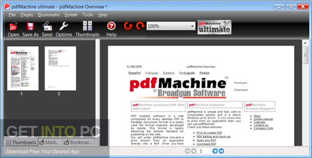 Broadgun pdfMachine Ultimate 2020 Direct Link Download