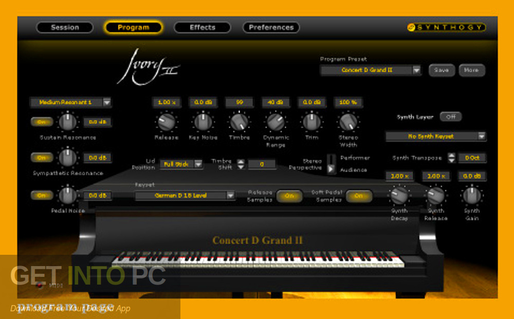 Synthogy - Ivory II by JR Samples (KONTAKT) Offline Installer Download-GetintoPC.com