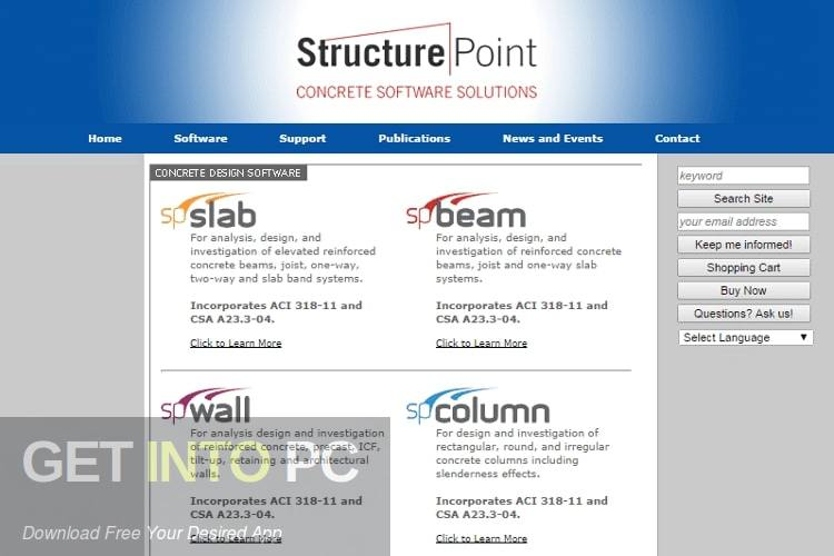 StructurePoint spMats Free Download
