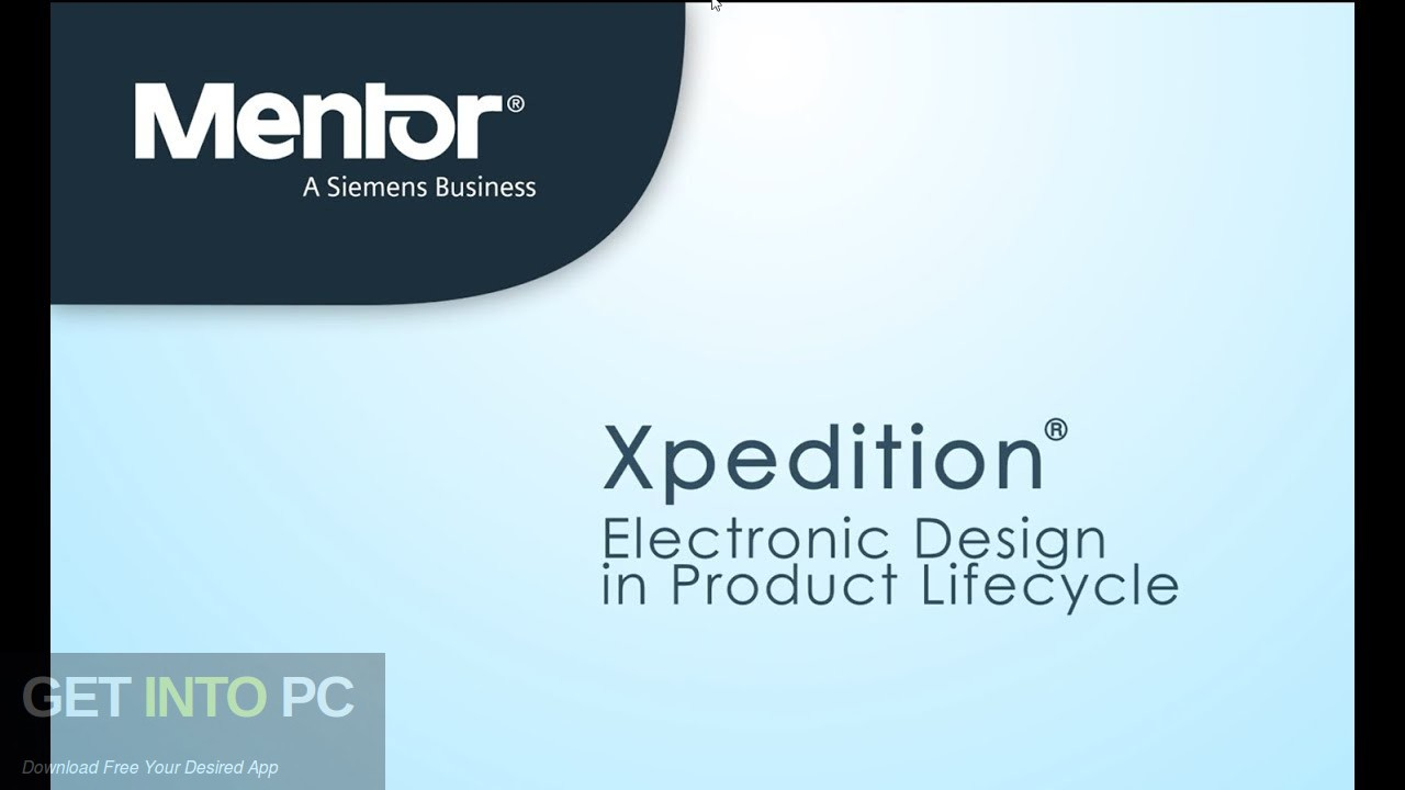Mentor Graphics Xpedition Enterprise 2020 Free Download
