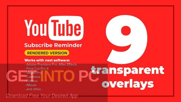VideoHive Youtube Subscribe Like Follow Reminder Latest Version Download