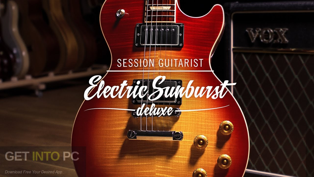Native Instruments Session Guitarist Electric Sunburst Deluxe Free Download