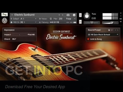 Native Instruments Session Guitarist Electric Sunburst Deluxe Latest Version Download