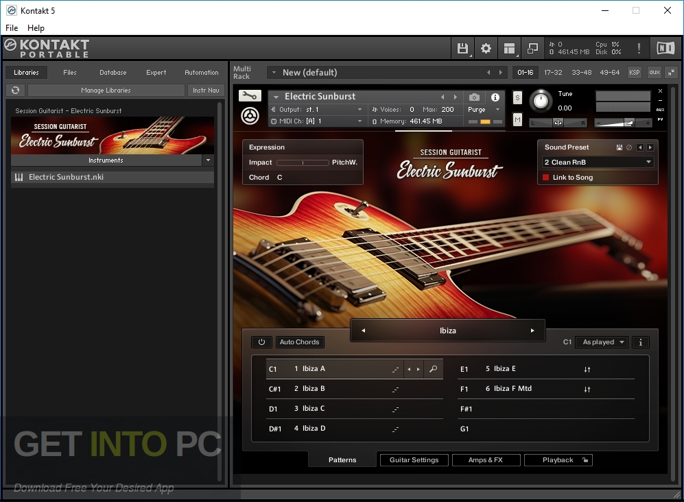 Native Instruments Session Guitarist Electric Sunburst Deluxe Direct Link Download