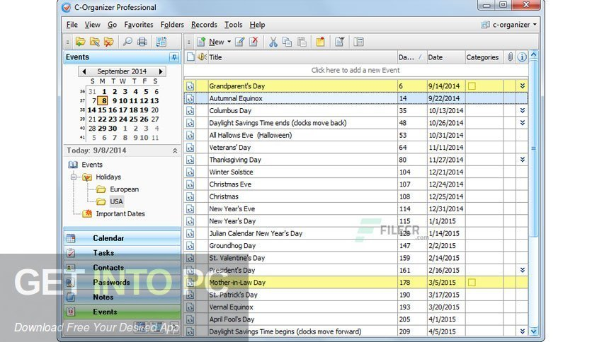 C Organizer Professional 2020 Direct Link Download