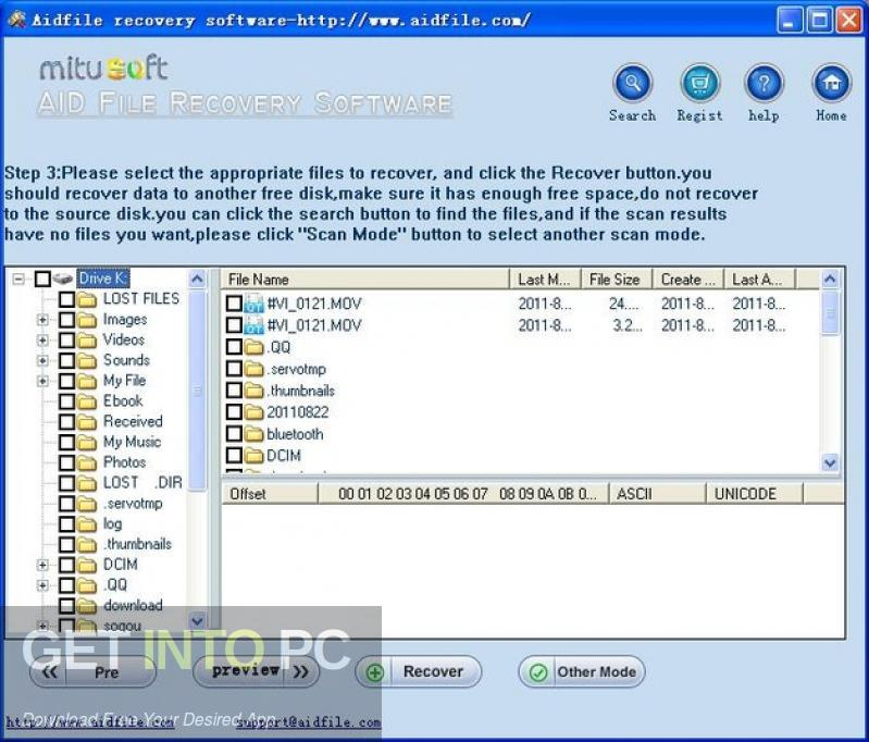 Aidfile Recovery Software Offline Installer Download