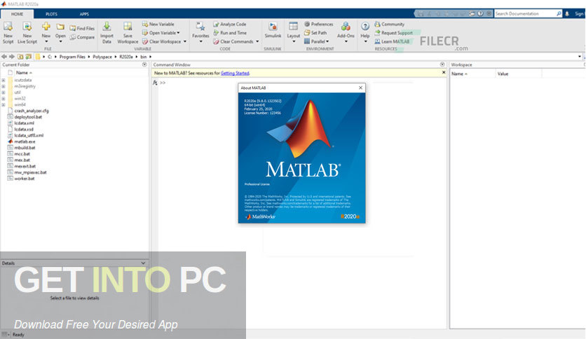 MATLAB R2020a Latest Version Download