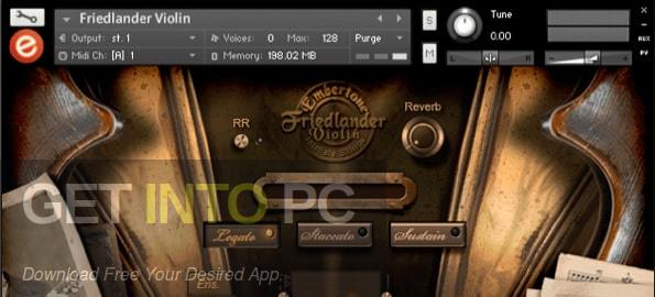 Embertone - Friedlander Violin Combo Edition (KONTAKT) Latest Version Download