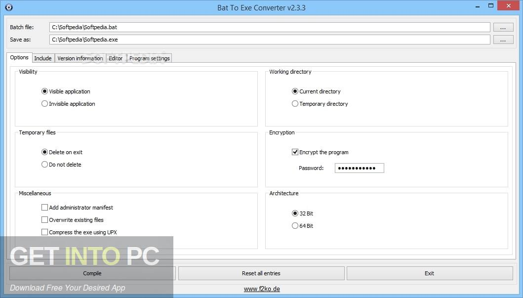Advanced BAT to EXE Converter PRO Direct Link Download