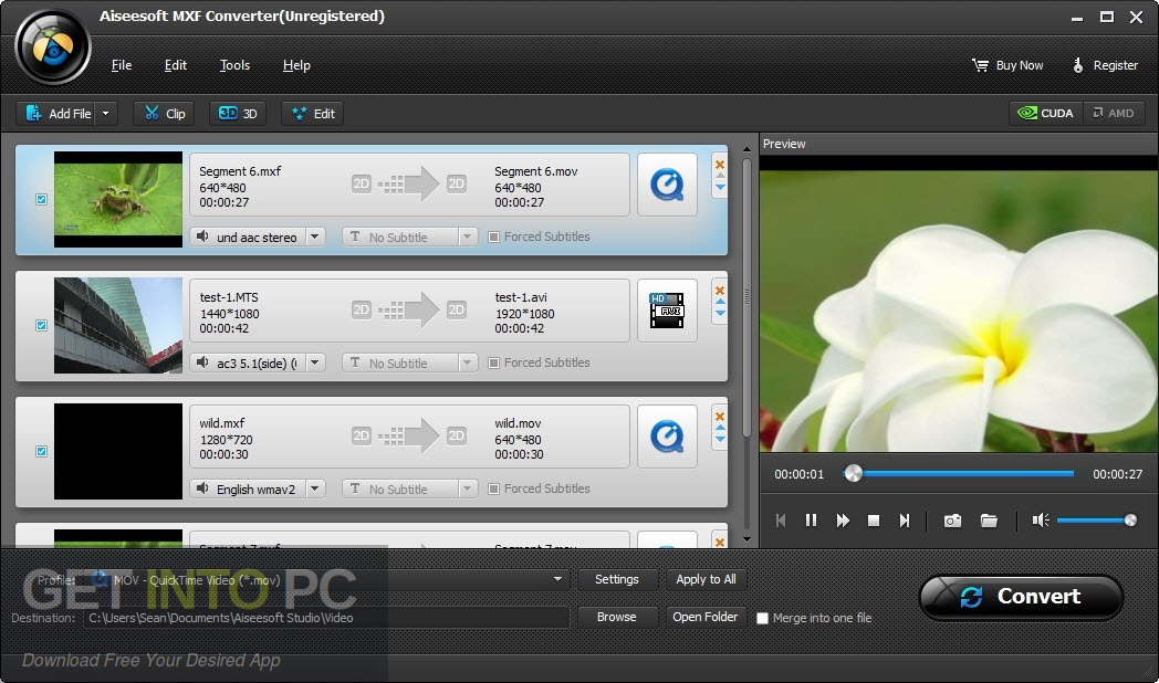 Aiseesoft MXF Converter Direct Link Download