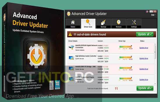 Advanced Driver Updater 2020 Free Download