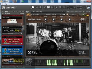 Drumdrops 1970s Rogers Big R Dub Kit (KONTAKT) Direct Link Download-GetintoPC.com