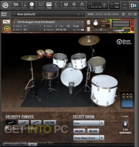 Drumdrops 1970s Rogers Big R Dub Kit (KONTAKT) Latest Version Download-GetintoPC.com