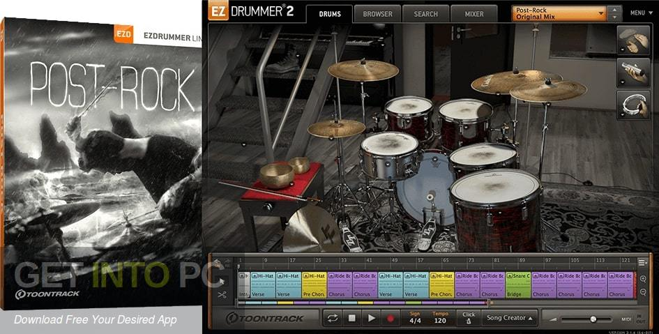 Toontrack - Post Rock EZX Free Download