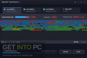 IObit Smart Defrag Pro 2020 Free Download-GetintoPC.com