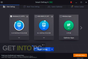 IObit Smart Defrag Pro 2020 Latest Version Download-GetintoPC.com