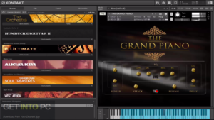 TH Studio Production The Grand Piano (KONTAKT) Latest Version Download Download-GetintoPC.com