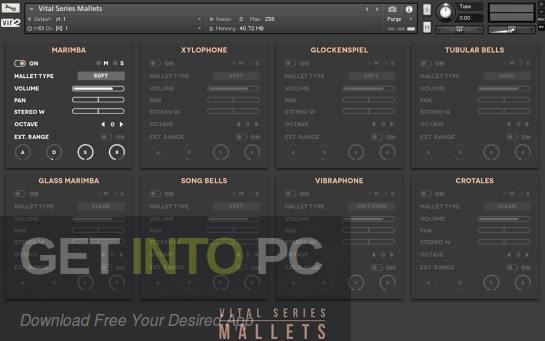 Vir2 Instruments - VITAL SERIES: MALLETS SUMMARY (KONTAKT) Latest Version Download
