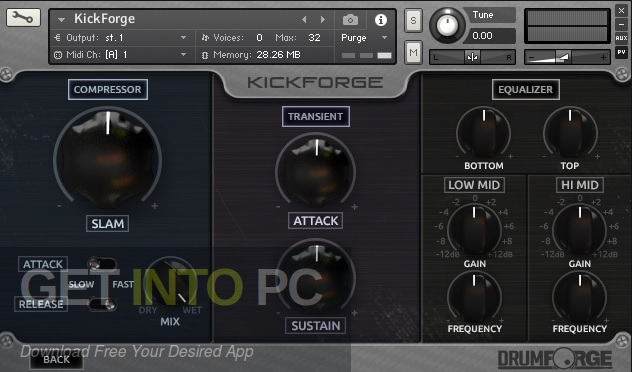 Drumforge Kickforge (KONTAKT) Offline Installer Download