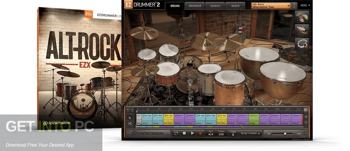 Toontrack - Alt-Rock EZX Free Download