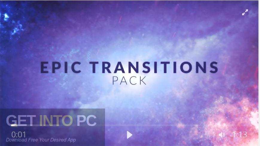 Tolerated Cinematics - Epic Transitions - 32 Amazing After Effects Transition Presets Pack Free Download