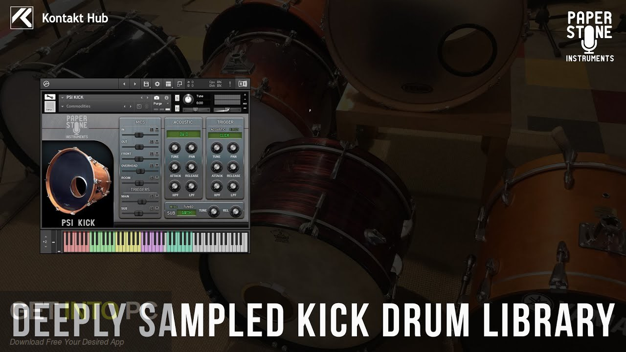 Paper Stone Instruments - PSI Kick (KONTAKT, WAV) Latest Version Download