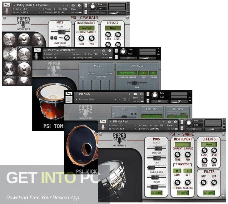 Paper Stone Instruments - PSI Kick (KONTAKT, WAV) Direct Link Download