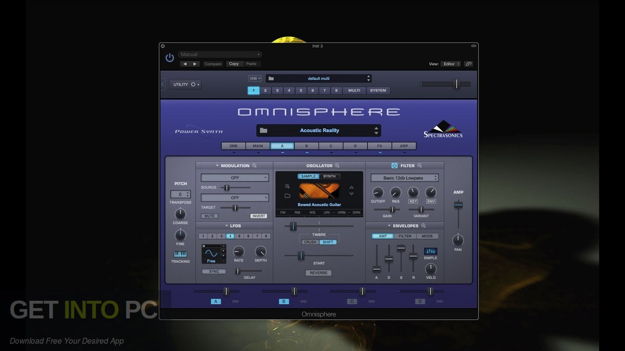 Soundsdivine - Acoustic Reality (OMNISPHERE) Free Download