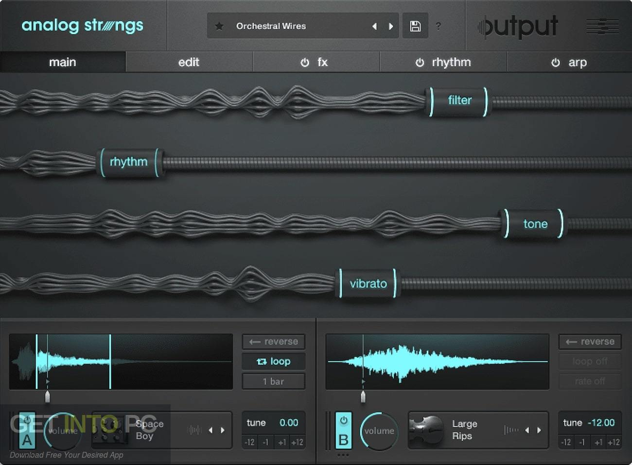 Output - Neon Strings Pack for Analog Stings Expansion Latest Version Download