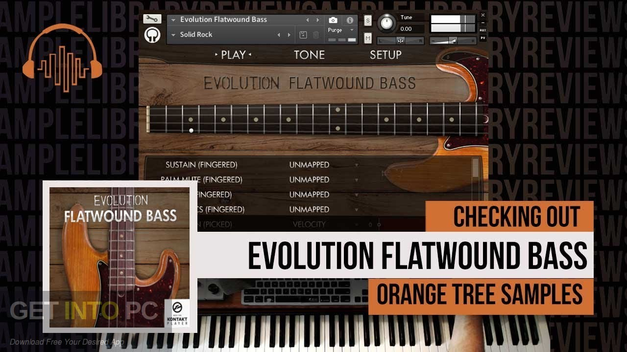 Orange Tree Samples - Evolution Flatwound Bass (KONTAKT) Free Download
