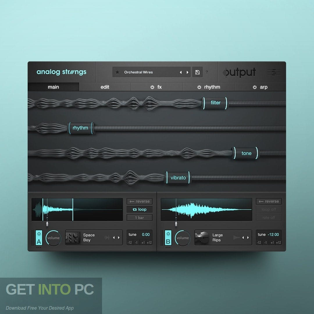 Output - Neon Strings Pack for Analog Stings Expansion Direct Link Download
