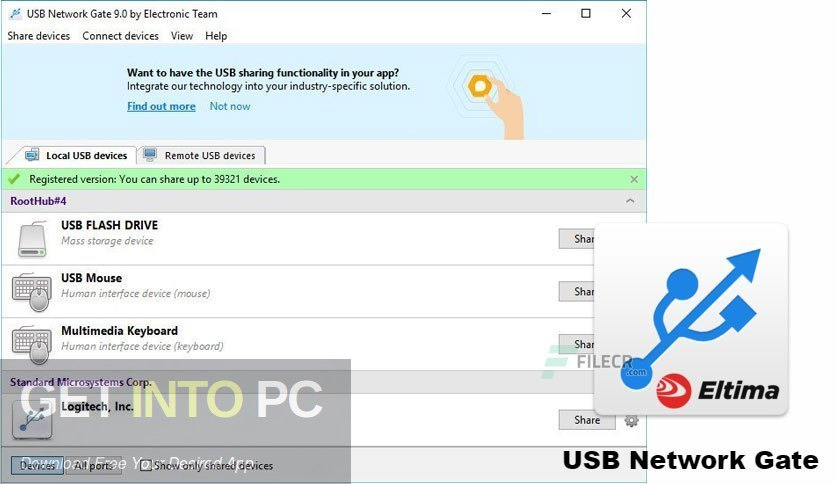USB Network Gate 2020 Free Download