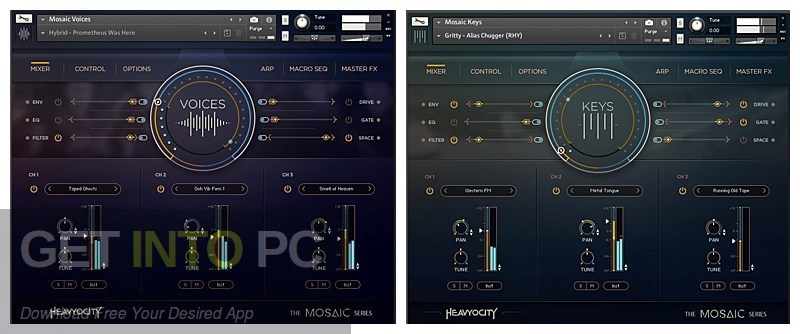 Heavyocity - Voices of Mosaic (KONTAKT) Latest Version Download