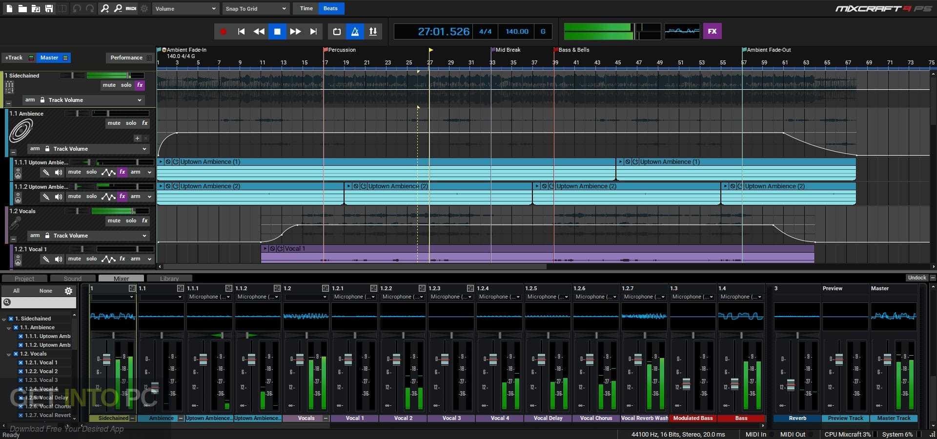 Acoustica Mixcraft Recording Studio Direct Link Download