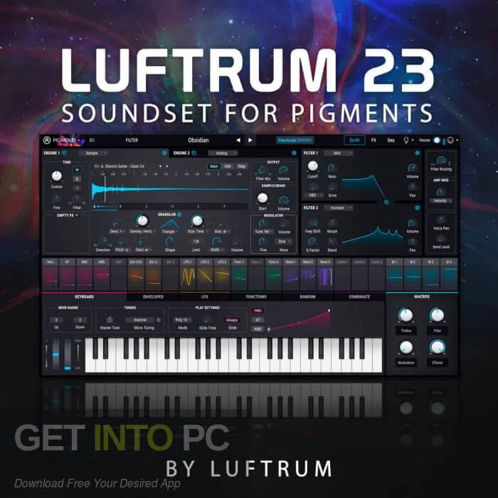Luftrum 23 for Arturia Pigments 2 (SYNTH PRESET) Free Download