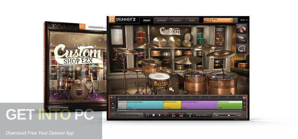 Toontrack - Custom Shop EZX Free Download