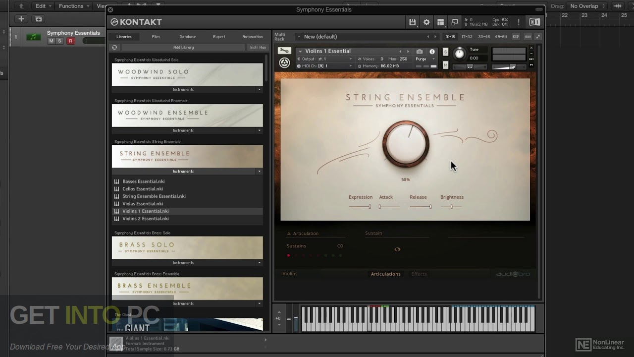 Native Instruments - Symphony Series String Ensemble Direct Link Download