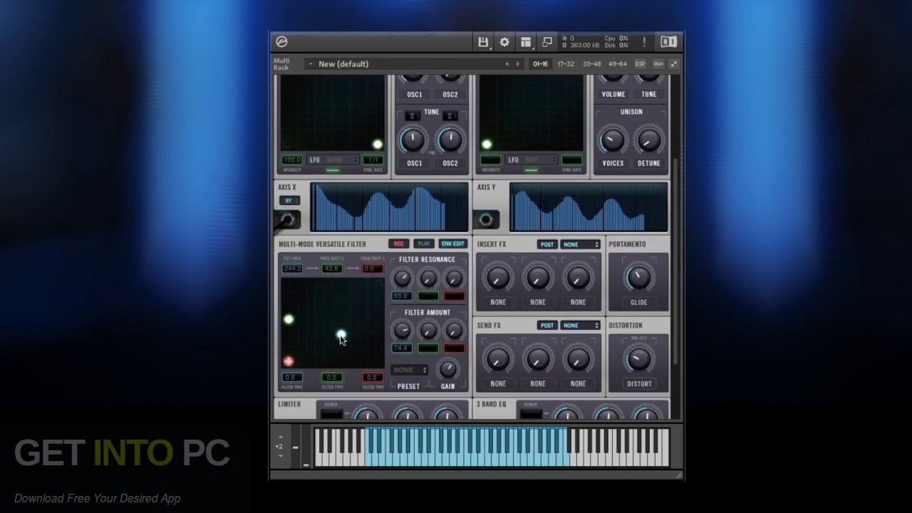 Technique Recordings - PARALLAX (KONTAKT) Latest Version Download