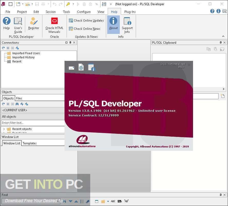 Allround Automations PL SQL Developer 2020 Free Download