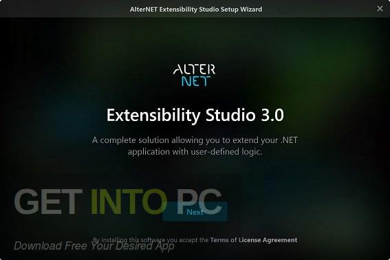 AlterNET Software Extensibility Studio Free Download