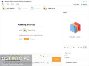 Aiseesoft PDF Converter Ultimate Offline Installer Download-GetintoPC.com
