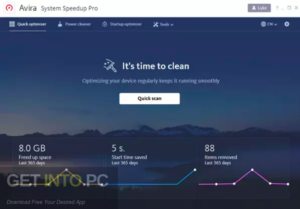 Avira System Speedup Pro 2020 Direct Link Download-GetintoPC.com