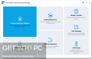 Coolmuster Android Backup Manager 2020 Free Download-GetintoPC.com
