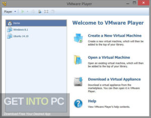 VMware Workstation Player Commercial Free Download-GetintoPC.com