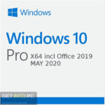 Windows 10 Pro X64 incl Office 2019 MAY 2020 Free Download
