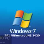 Windows 7 SP1 Ultimate 6in1 OEM JUNE 2020 Free Download