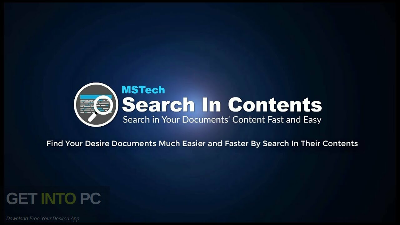 MSTech Search In Contents Pro Free Download