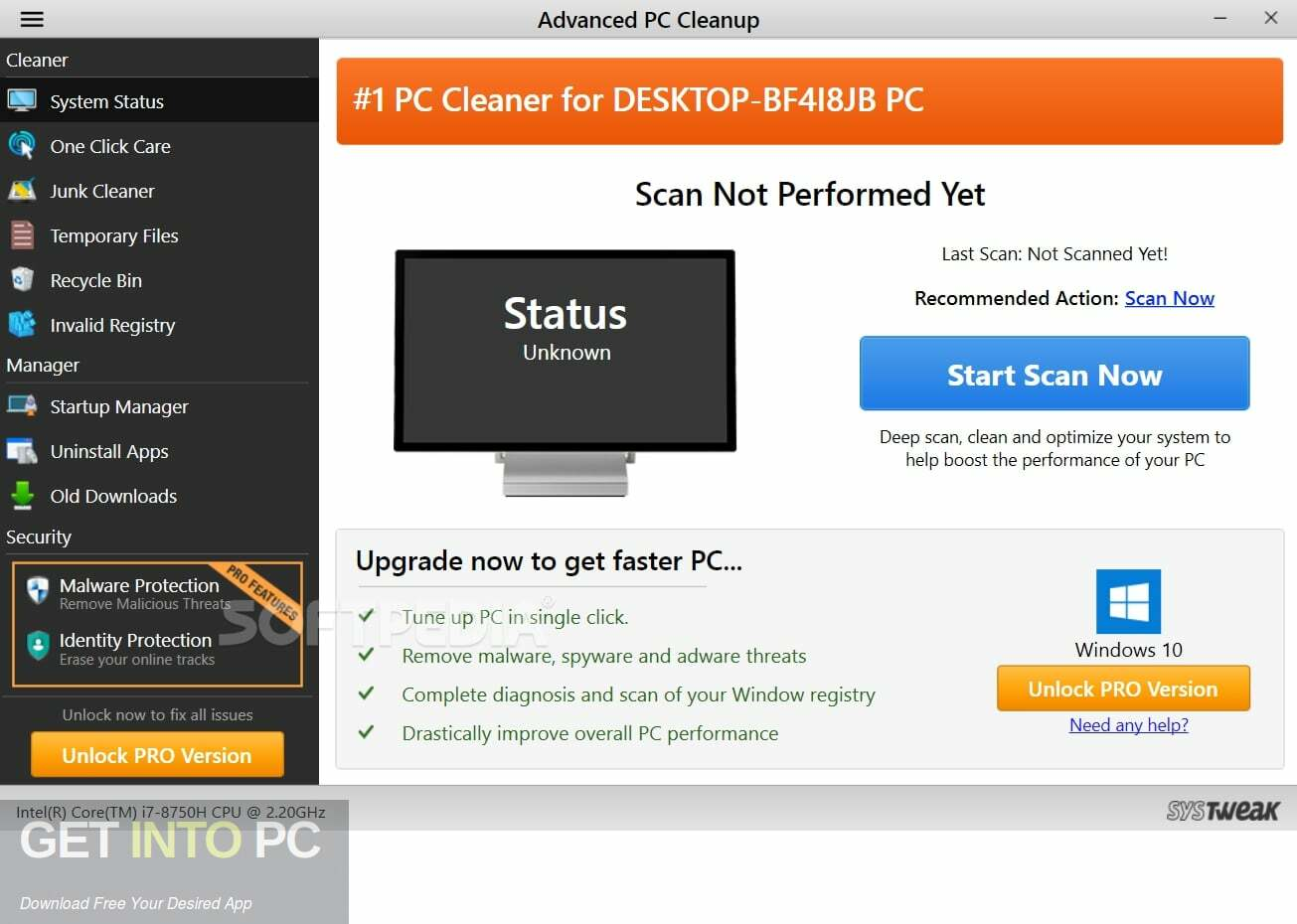 Systweak Advanced PC Cleanup Larest Version Download
